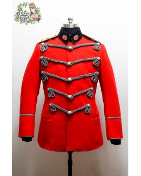 Newly Created Army of Qing Empire Guards Military Bands Uniform Officers 禁卫军军乐正参领