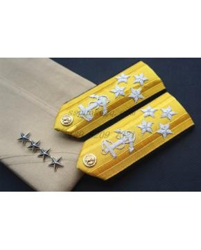 USN Admiral SHOULDER BOARDS