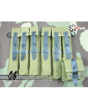 Canvas 40/MP Pouch Green Pair Lite