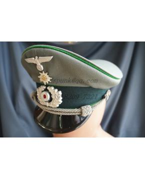 MOUNTAIN TROOP OFFICER'S VISOR CAP