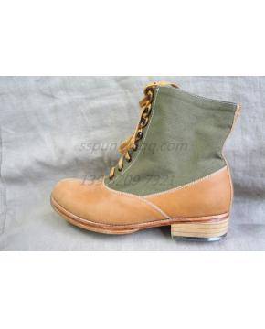 WWII German Tropical/DAK EM low boots