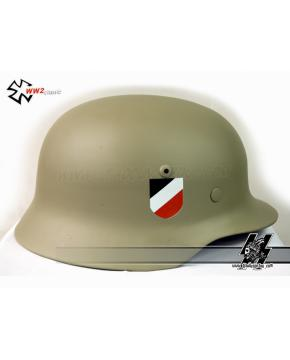WWII German DAK helmet