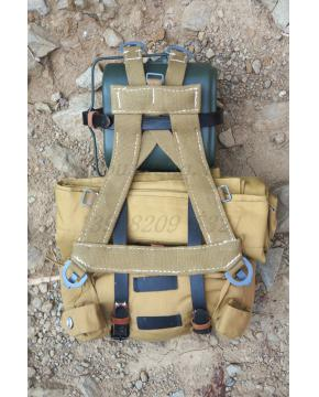 WWII German DAK/Tropical AfrikakorpsCOMBAT ASSAULT PACK A-FRAME BAG