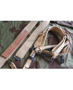 WWII German TROPICAL COMBAT Y-STRAPS