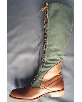 WWII German Tropical/DAK Jack boots / Marching boots